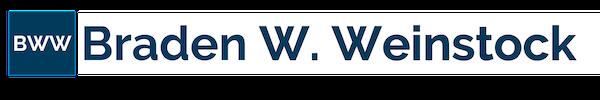 Braden W. Weinstock